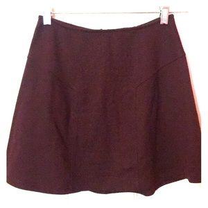 SIZE XS SOCIALITE maroon mini skirt
